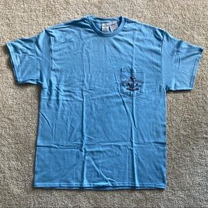 NWT 100% Cotton Delray Beach FL Pocket Tee
